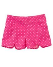 GYMBOREE CAPE COD CUTIE PINK PINDOT WOVEN SHORTS 6 12 18 24 3T 4T 5T NWT