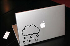 SNOW CLOUDS WEATHER FORECAST MACBOOK CAR TABLET VINYL DECAL