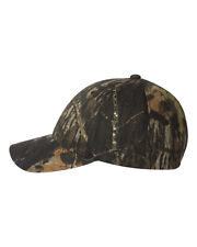 Flexfit Mossy Oak Camouflage Cap, Camo Hunting Hat, Comes in 3 Sizes (6999)