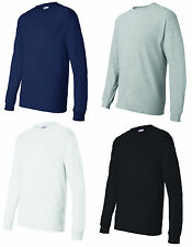 Hanes Comfortsoft Heavyweight Long Sleeve T Shirt, 5 Colors & 6 Sizes (5286)