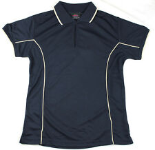 Ladies Polo Shirt Top Breathable Size 10 14 16 18 20 22 24 Cool Dry Brand New!