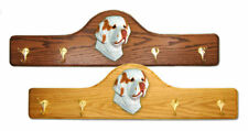 Clumber Spaniel Dog Figure Coat Rack. Home Decor Dog Breed Pet Products & Gifts.