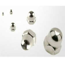 M8 A2 Stainless Steel Hex Head Dome Nuts All Sizes Qty from 10 Nuts to 100 Nuts