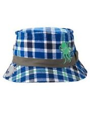 GYMBOREE DEEP SEA ADVENTURE PLAID OCTOPUS BUCKET HAT 0 12 24 2T 3T 4T 5T NWT-OT