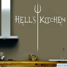 WANDTATTOO WANDAUFKLEBER STICKER -  HELLS KITCHEN A10dG