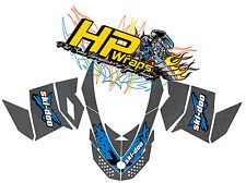 Ski-Doo XP Custom Graphic Kit, Exess X Graphic Decal. 08-present. HPGK-0001.
