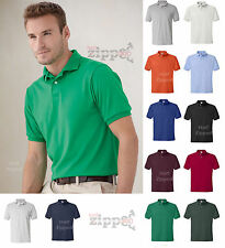 Hanes Mens Golf Tee Blended Jersey Polo Sport Golf Shirt 054X S-6XL NEW