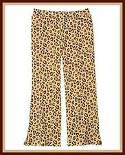 NWT Gymboree sz  5  KITTY GLAMOUR Brown Leopard Flare Knit Pants