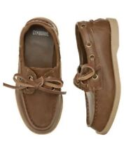 GYMBOREE HOLIDAY TRADITIONS BROWN LEATHER  DRESSY SHOES 2 NWT-NWOT