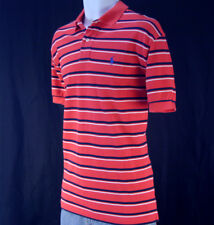 NWT Ralph Lauren Mens Stripe Mesh Polo Shirt  M