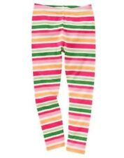 GYMBOREE CHEERY ALL THE WAY MULTI COLOR STRIPE LEGGINGS 3 4 5 7 8 NWT