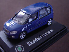 Skoda Roomster 1:72 scale Diecast Model in case - choice of colours