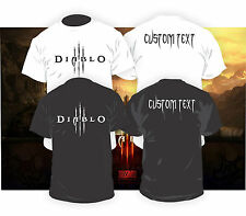Diablo 3 Shirts w/ FREE CUSTOMIZATION