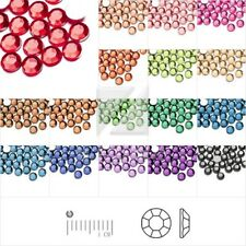 1000pcs Flatback Rhinestones Crystal Phone Wedding Craft1.5/2/2.5/3mm 20 Color