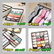 Underwear Closet Divider underwear & Socks & Ties & Bra Organizer Box Storage