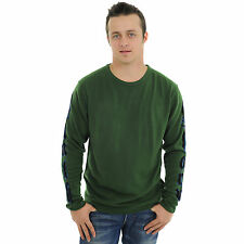 # G09H03 RAW 7 Mens  Sweater with Panther (Green)