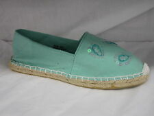 "LADIES ESPADRILLS SHOES ""GREEN"""