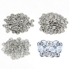 10, 20, 50 or 100 Pearl Press Studs Snap Fasteners/Popper 9.5mm