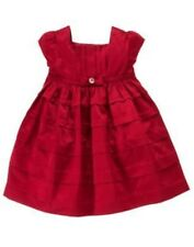 GYMBOREE MERRY OCCASIONS RED TEIR DRESSY DRESS 3 6 18 24 NWT
