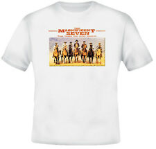 The Magnificent Seven Retro Movie Western T Shirt