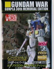 Ban Dai Gundam War Trading Card Game 30th memorial edition 10 cards