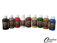 CREAM 50-250 ML Leather Colour Coat Re-Colouring / Dye Stain Pigment Paint