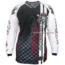 Men's Ed Hardy Motorsports Biker Racing Motorcycle Jersey T Shirts Big Tall