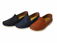NEW  MEN'S CASUAL COMFY  SOFT  LOAFER  ON  BOAT SHOES      SIZE:7.5-12 (BASS-04)