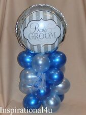 SAPPHIRE & BLUE BIRTHDAY, ANNIVERSARY, WEDDING, BALLOON DECORATION CENTERPIECE