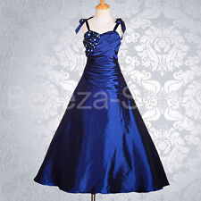 Rich Beaded Wedding Flower Girl Dresses Ball Gown Pageant Party Size  2-12 FG167