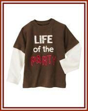NWT Gymboree 7 Gymboree EMPIRE STATE EXPRESS Life of the Party Long Sleeve Shirt