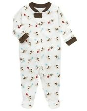 GYMBOREE STYLISH PUPPY DOGS A/O PRINTED FOOTED ONE PIECE Preemies, 0 3 6 9 NWT