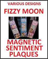 Fizzy Moon Magnetic Sentiment Plaques