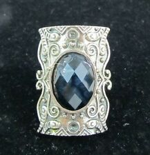 Woman's Fashion Adjustable Ring with Stone Brand New