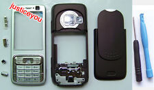 New REPLACEMENT faceplate housing cover  case + keypad fit for Nokia N73 + TOOL