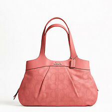 NWT PERFORATED LEATHER LEXI COACH BAG