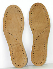 New Leather Shoe Insoles SIZES UK 2 to 11( EU 35 to 46)  comfortable walk