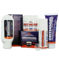 Orthogel Advanced Cold Therapy Pain Relief Gel-  Roll On, Tube, Jar, Pump Bottle