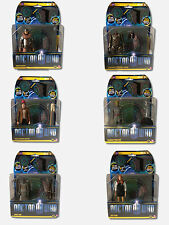 Doctor Who PANDORICA FIGURES, Amy Pond, Eleventh Doctor, Silurian Warrior, Roman