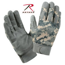 Army ACU Digital Camo Military Lightweight All Purpose Grip Wicking Duty Gloves