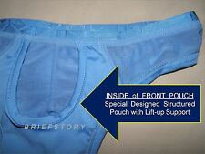 """skinXwear #217 S (28 - 30"""") Enhancer MINI Brief with Up-Lift Pouch ~many colors"""