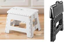 """Folding Step Stool, Easily Unfolding, Quck 9"""" Boost, Supports Up To 300 Pounds"""