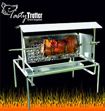 Charcoal Hog Roast/ Spit Roast machine Ideal For Lamb, or BBQ's. Tasty Trotter