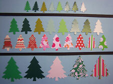 Your Choice of Christmas Tree Martha Stewart Fiskars EK Paper Die Cuts Punches