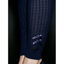IRON FIST (S, M, L, XL, 2XL) BLUE RAINY DAY LEGGINGS RRP £57 BNWT