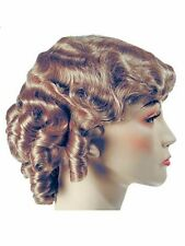 1930s Fingerwave Fluff Starlet Jean Harlow Movie Star Lacey Costume Wig