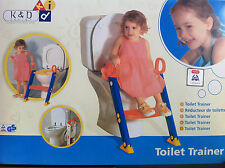KETER TOILET TRAINER Seat Potty Chair For No More diaper Kids Made In Israel NIB