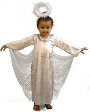 NATIVITY Arch Angel Gabrielle-XMAS ANGEL Girls fancy Dress outfit ALL AGES