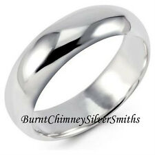 Personalized Solid 925 Sterling Silver 5mm Hand Stamped & Painted Name Ring