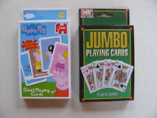 Giant Playing Cards Sam Peppa Jumbo Large Deck Pack TV Character Games Fun BNIB